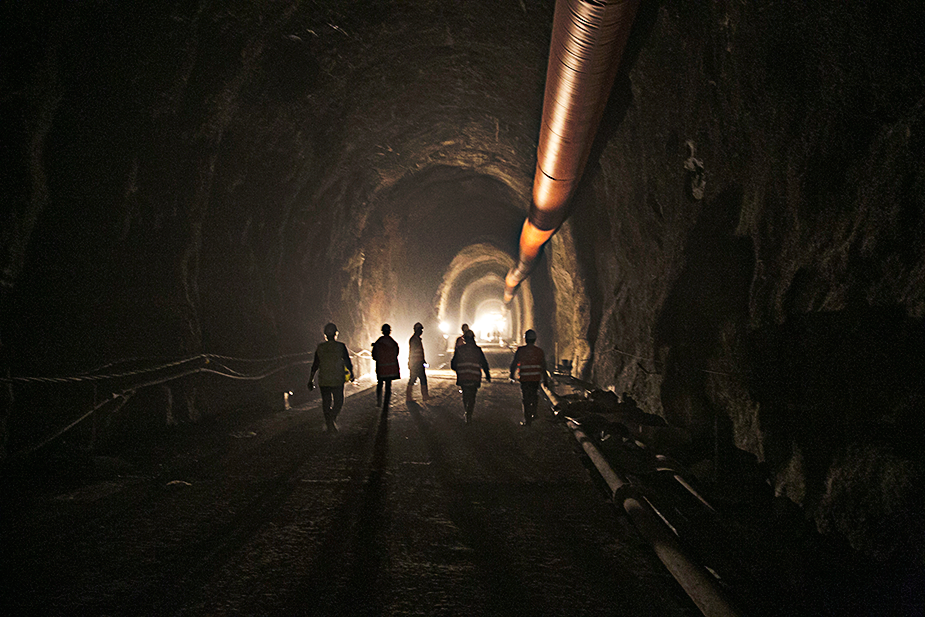 Тоннель Грузия