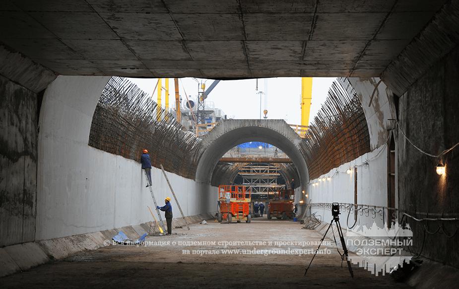 Строительство метро Южная
