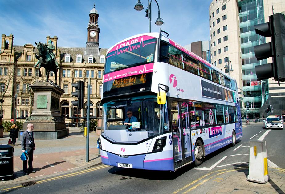 Автобусы в Лидс