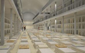 Архитектурная концепция подземного кладбища