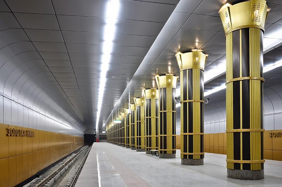 Станция Золотая Нива в Новосибирске