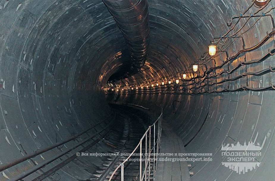 Тоннель метро Красноярск