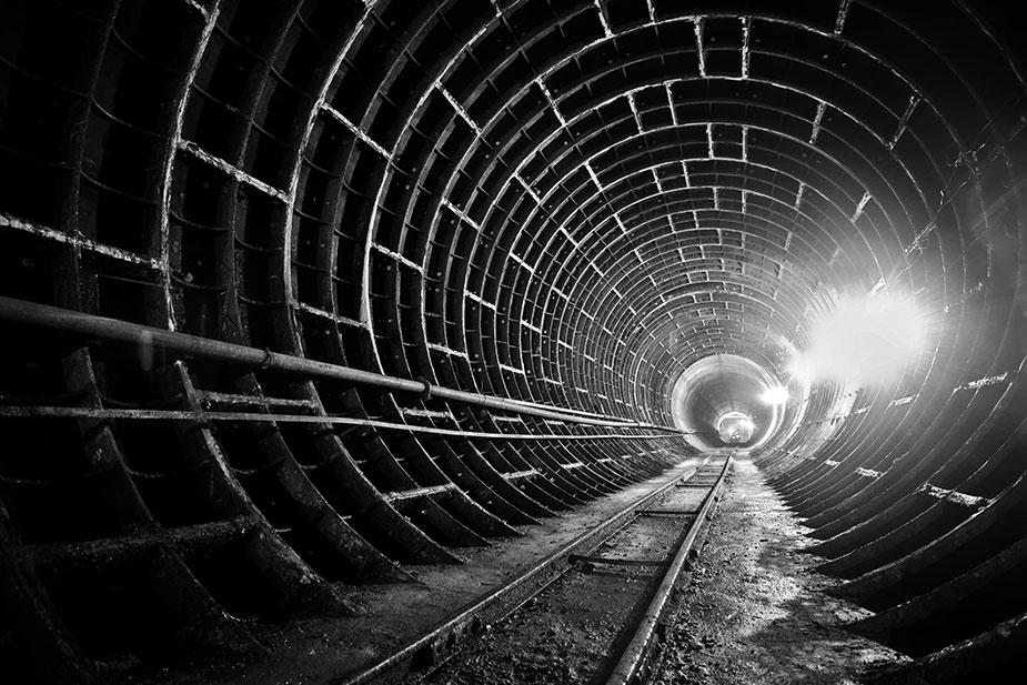 Тоннель омского метро