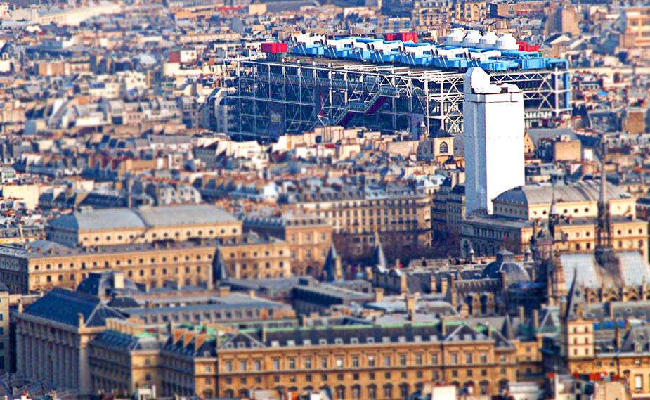 Центр Помпиду в Париже