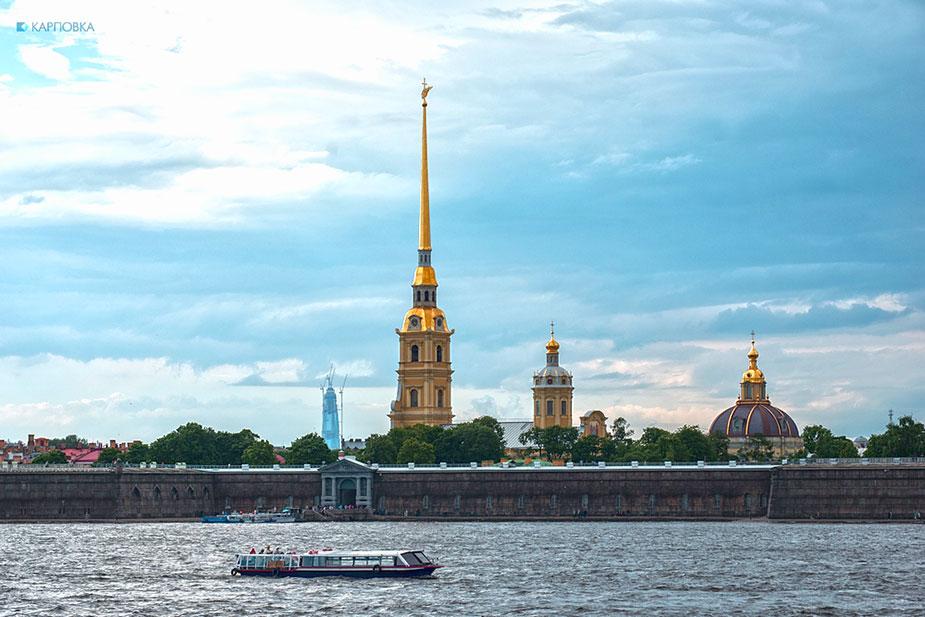 Санкт-Петербург, Петропавловская крепость