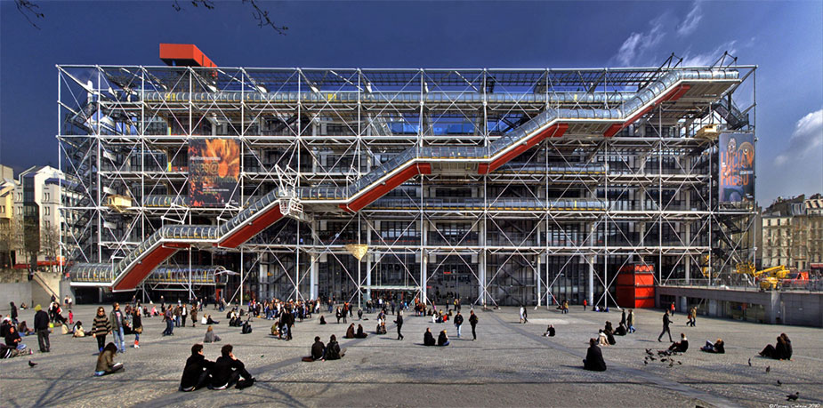 Pompidou Center in Paris