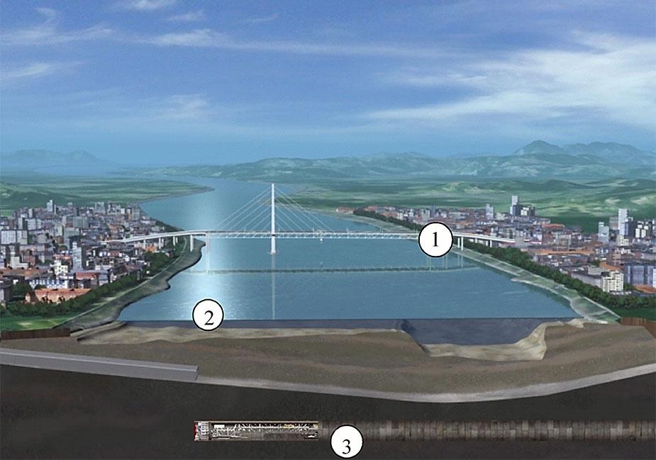 Варианты строительства моста и тоннеля