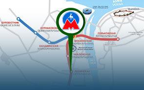 Карта метро Нижнего Новгорода