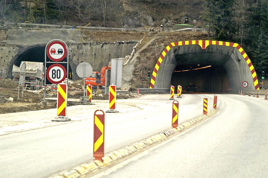 Аварии в тоннелях