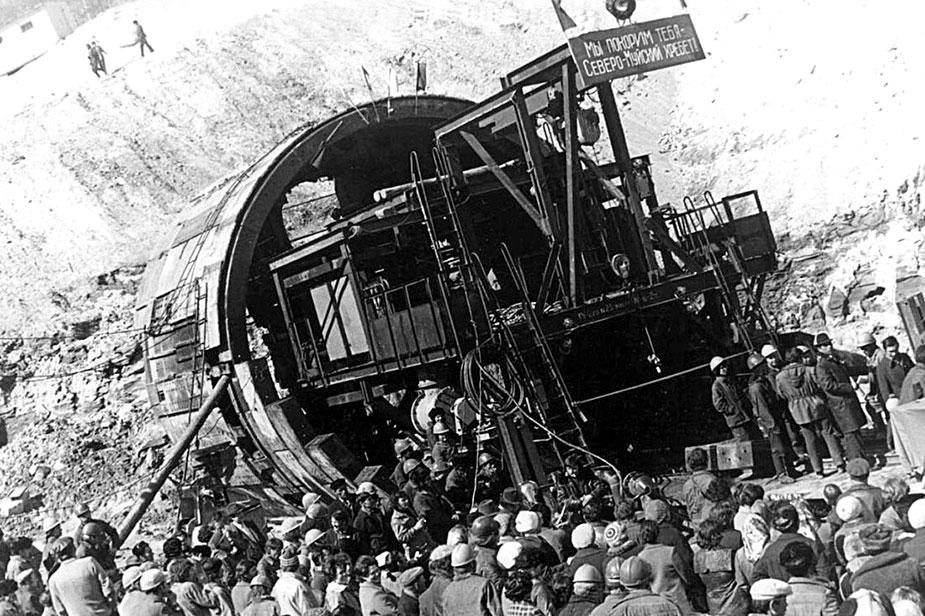 Строительство северомуского тоннеля