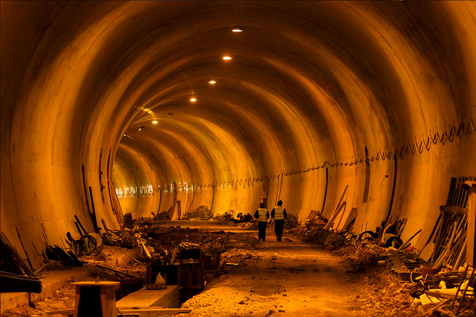 тоннель метро