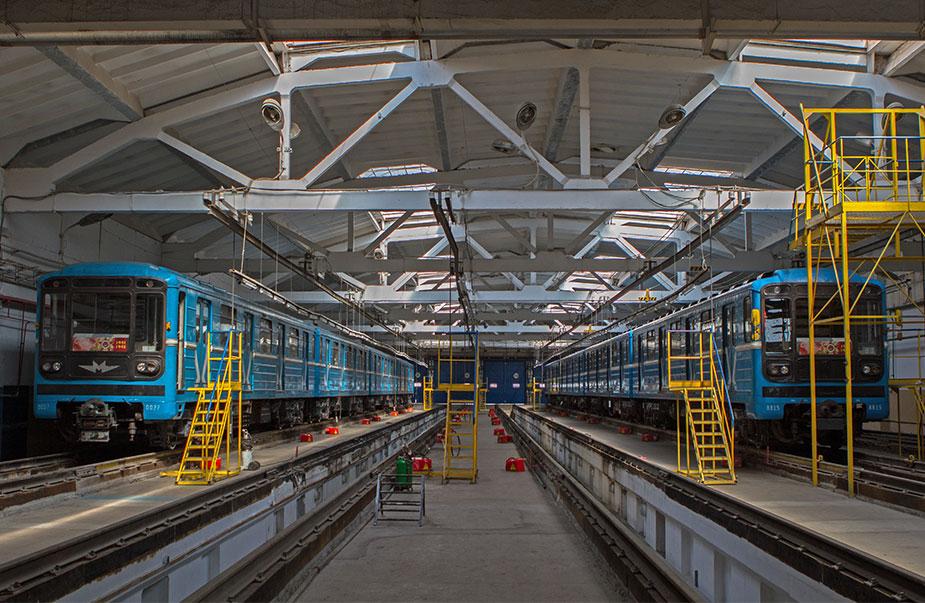 Депо метро новосибирска