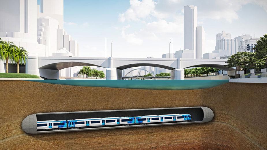 метро Мельбурна