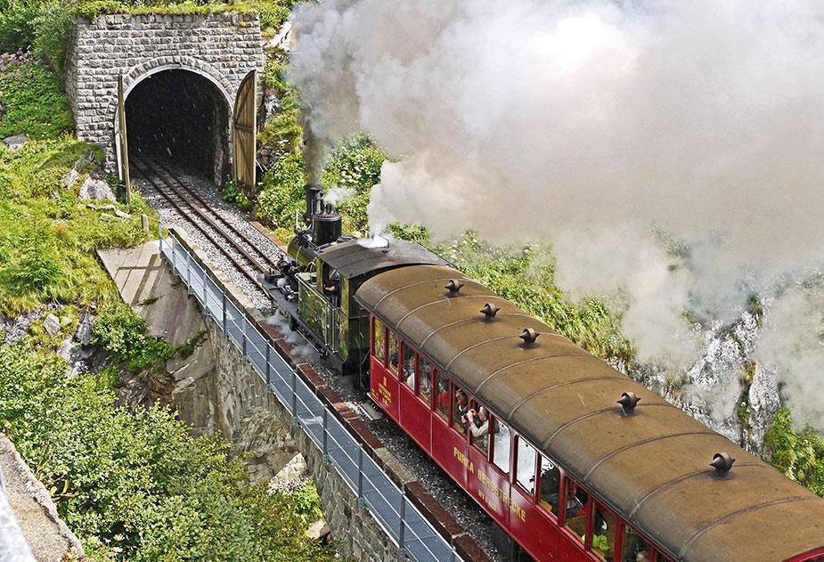 тоннель фурка в швейцарии