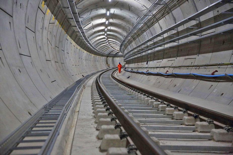 Тоннель crossrail