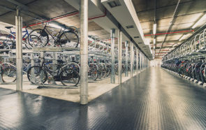 подземный велопаркинг