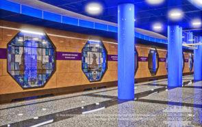 проект станции метро Дунайский проспект
