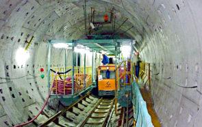 строительство метро Тяньцзиня