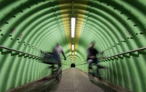 Тоннель для велосипедов