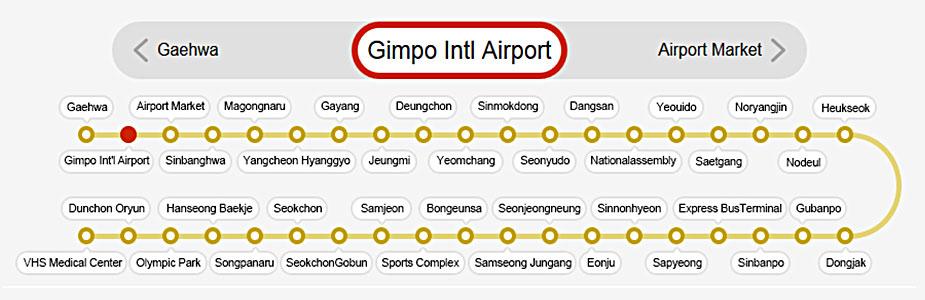 линия 9 в Сеуле