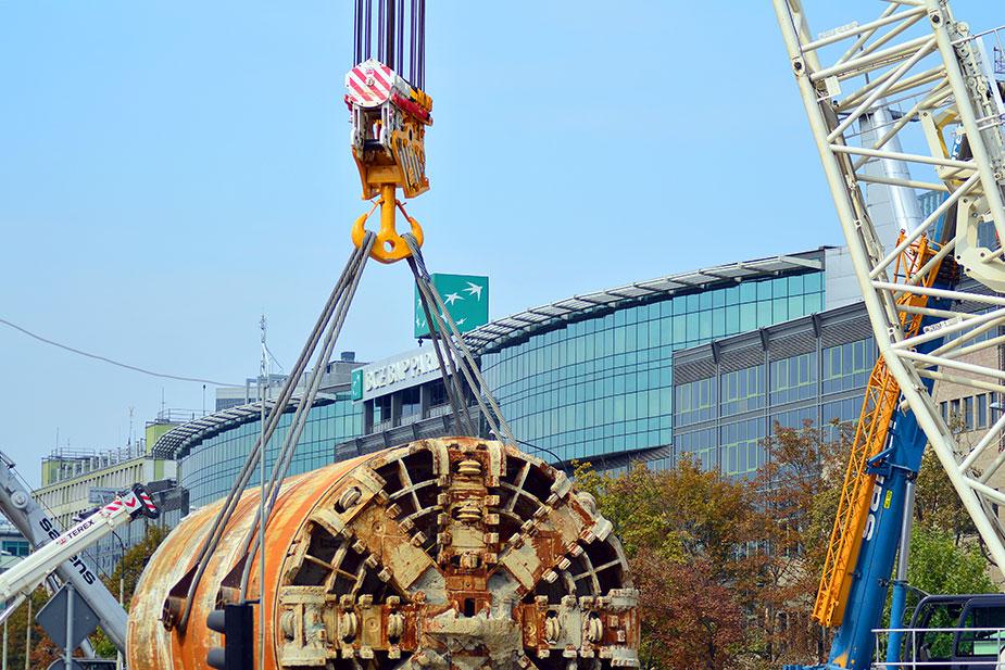 Строительство метро в Польше