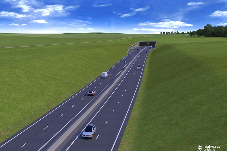 тоннеля автомагистрали А303
