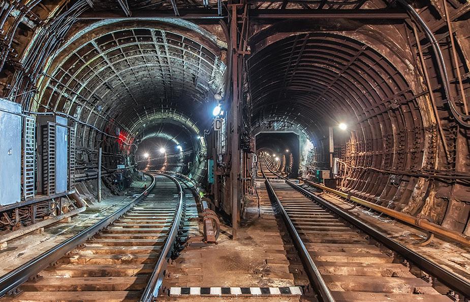 тоннель московского метро