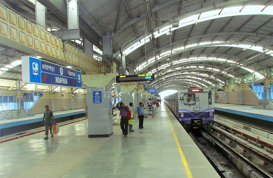 Станция метро Noapara