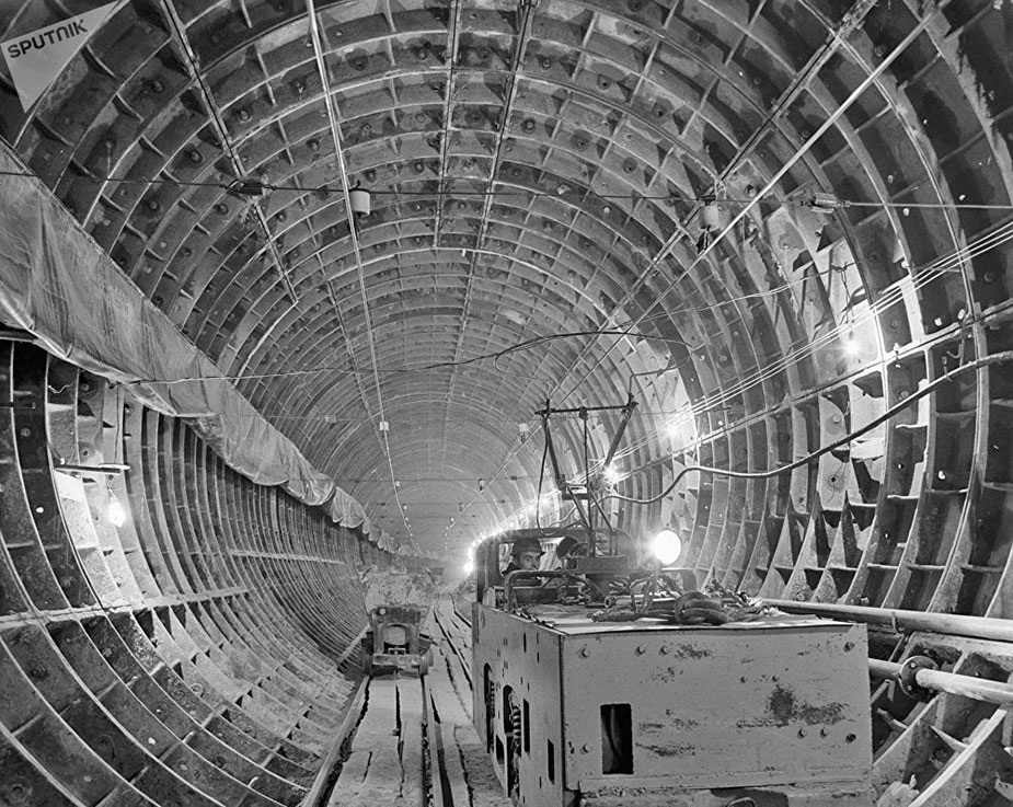 Строительство ташкентского метро