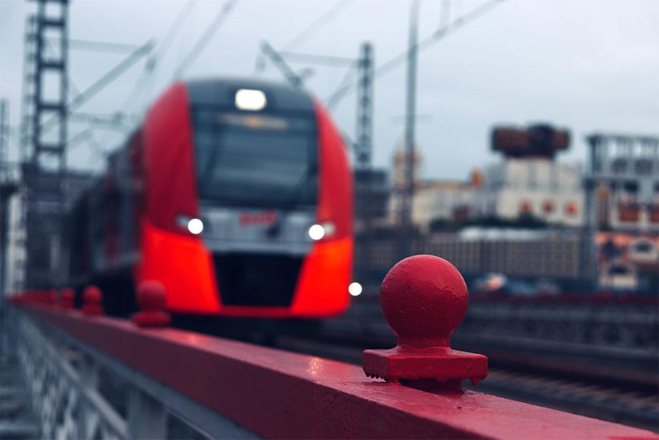 линия РЖД до Пулково