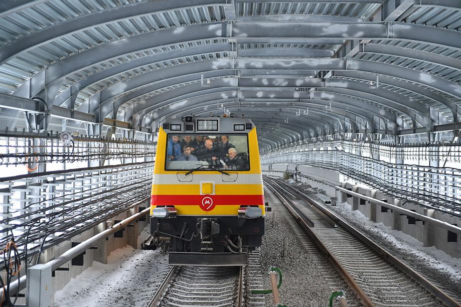 Технический запуск Сокольнической линии метро
