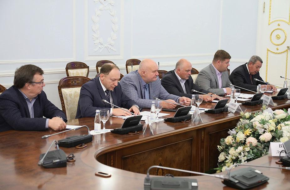 Совещание с губернатором Санкт-Петербурга
