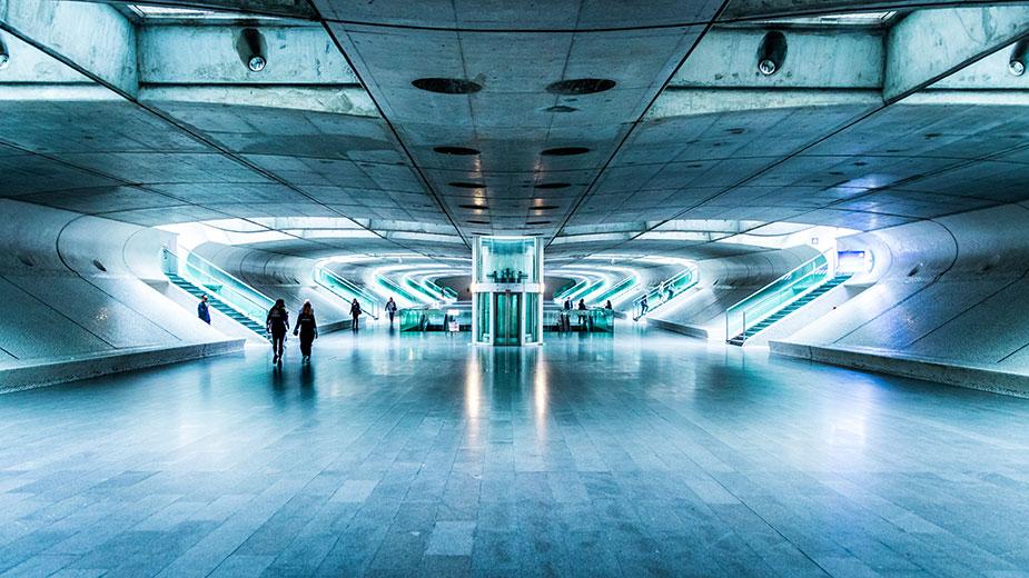 Лисабон станция Estação do Oriente