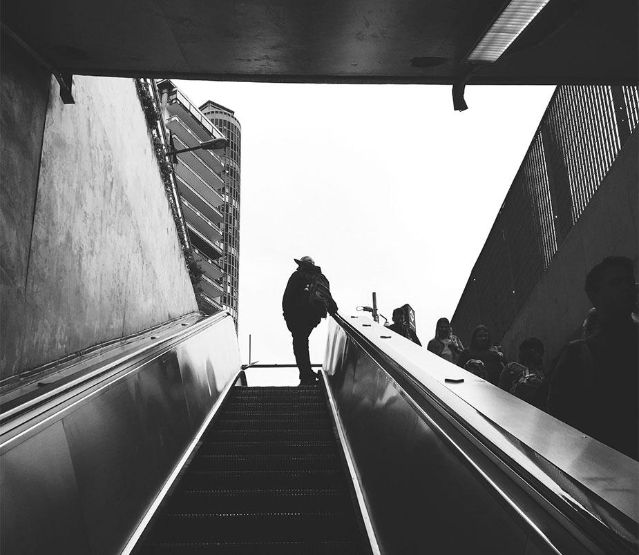 Эскалатор Сан-Паулу