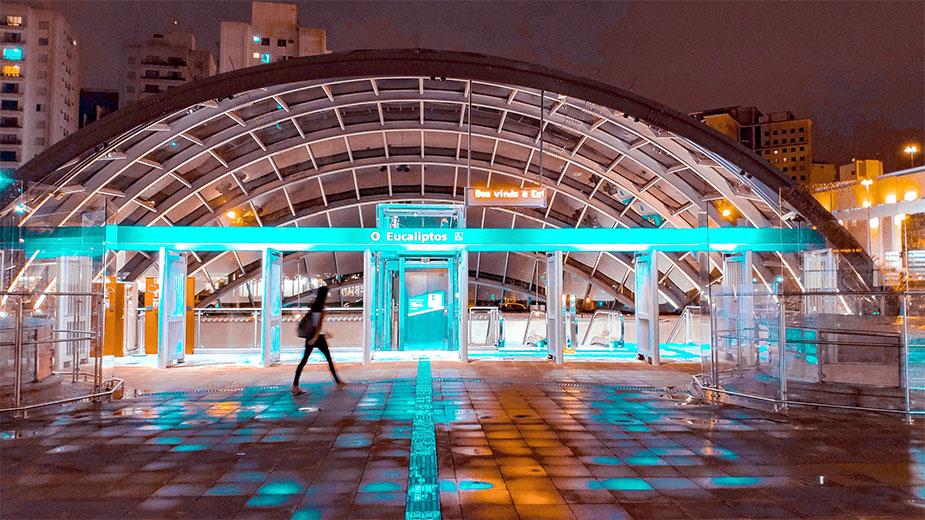 метро Eucaliptos