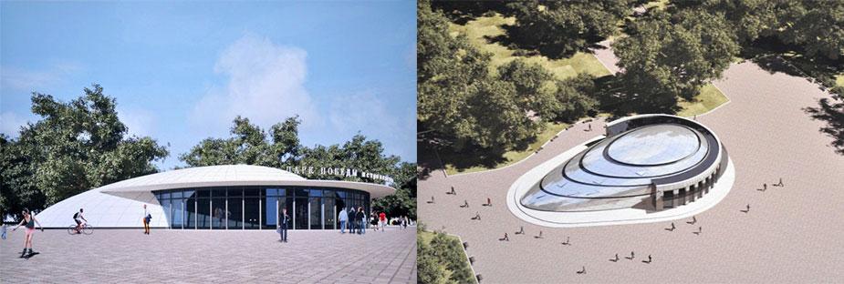 проекта реконструкции наземного вестибюля станции метро «Парк Победы»