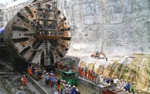 Строительство SMART Tunnel