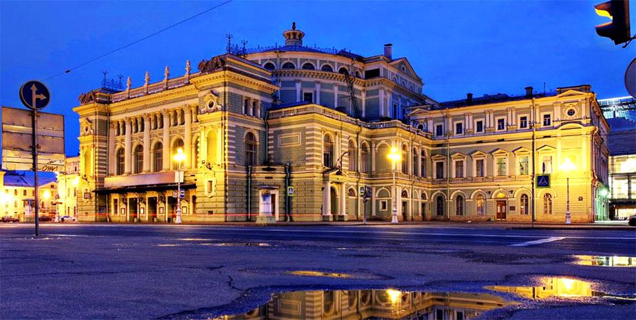 Театральная площадь, Мариинский театр в Санкт-Петербурге