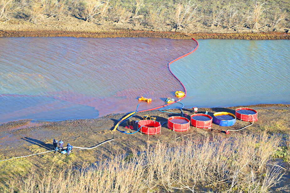 Norilsk oil leak