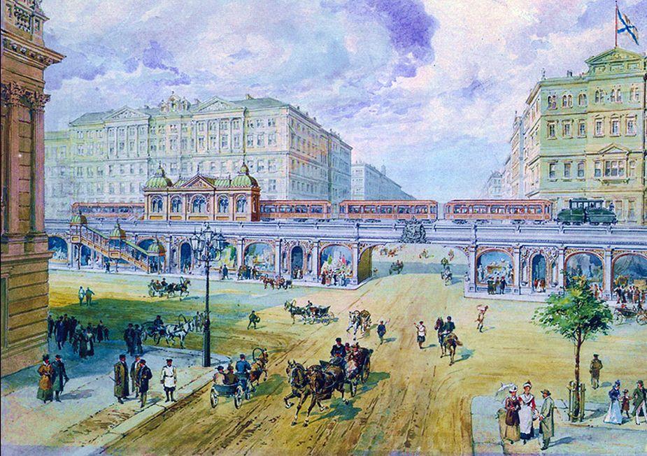 peterburg metro old