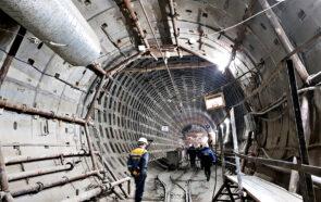 Строительство Лахтинско-Правобережной линии метро
