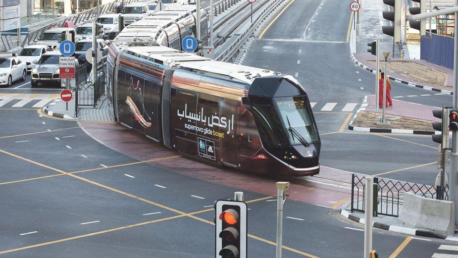 Tram Dubai Marina