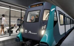 Sydney Metro train