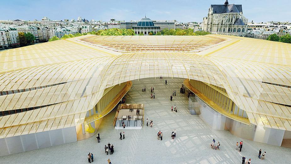 Подземный торговый центр Les Halles