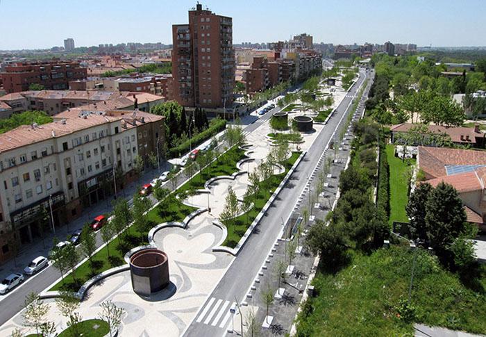 Пешеходная зона MADRID RIO PROJECT
