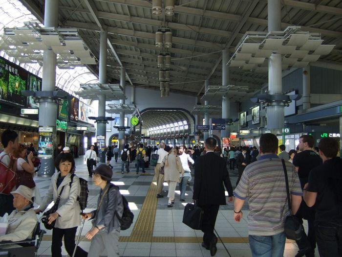 Внешний вид распределительного уровня ТПУ «Шинагава»