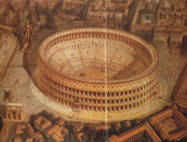 Colosseum reconstruction