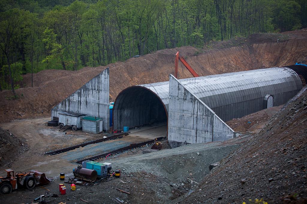 Строительство первого экологического тоннеля в России