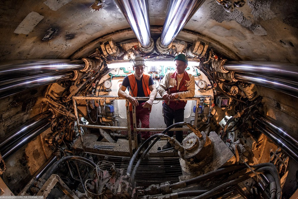 Внутри ТПМК. Фото Александр «Russos» Попов