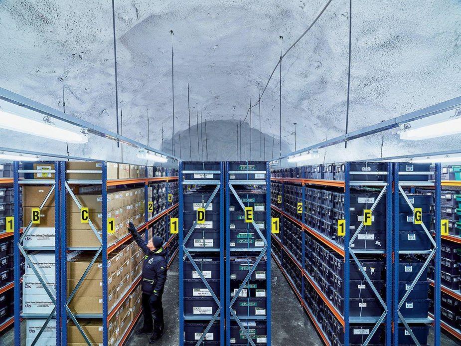 Щпицберген хранилище семян